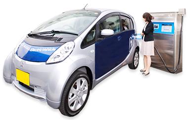電気自動車(EV)用充電器の保守はミントウェーブにお任せください!