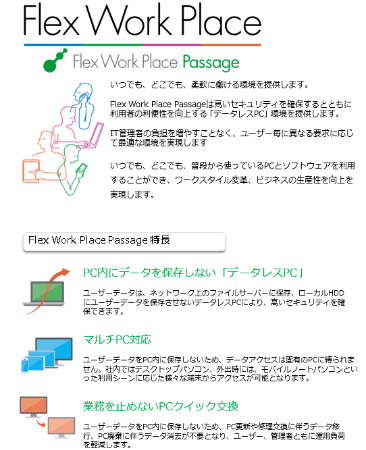 データレスPC Flex Work Place